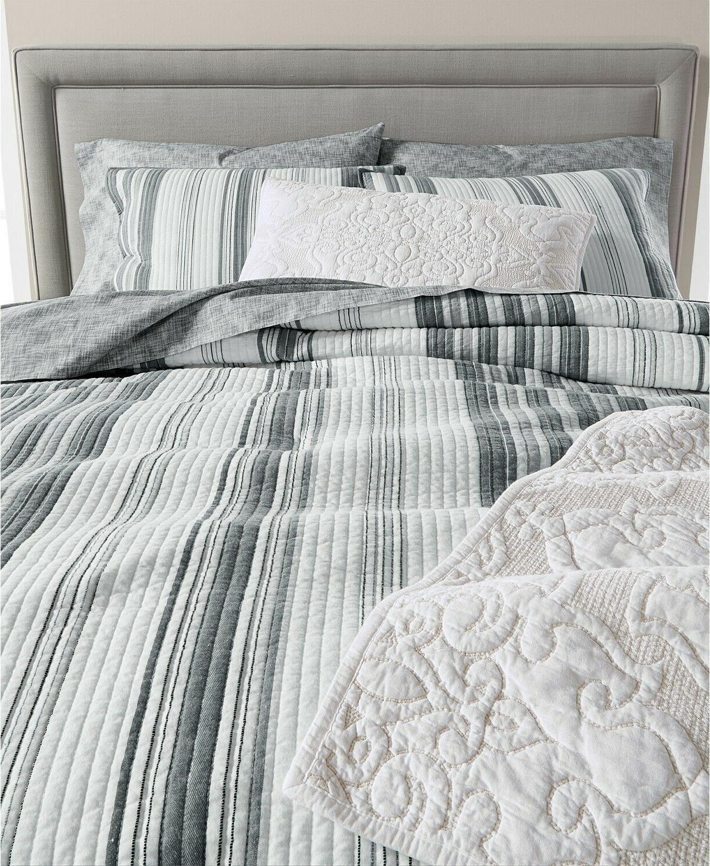 Martha Collection Stripe Set Gray