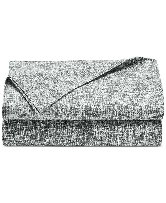 Martha Stripe Cotton Set QUEEN - Gray