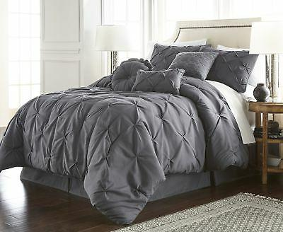 Chezmoi Sydney Pintuck Comforter Set