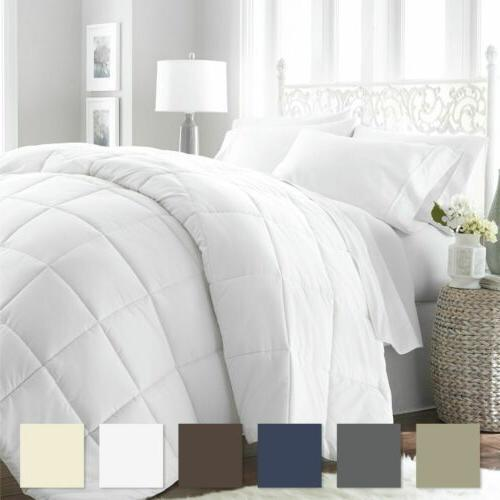 King Queen Size Goose Down Alternative Comforter Luxury Hote