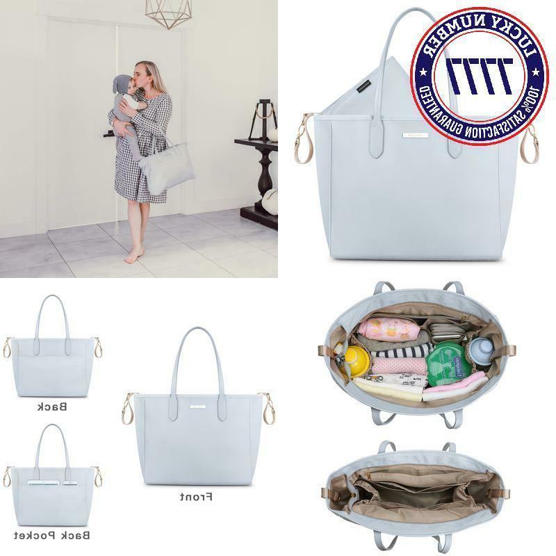 diaper bag large totes handbag with changing