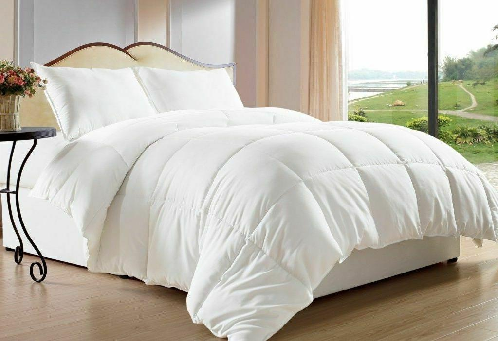 down alternative comforter and sheet set egyptian