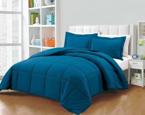 down alternative comforter queen set