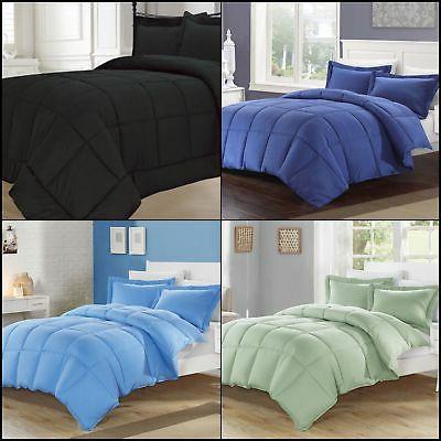 KingLinen Down Alternative Comforter Set All Colors