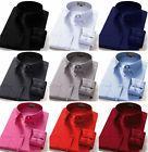 Dress Shirts Men's Regular Fit Oxford Long Sleeve One Pocket