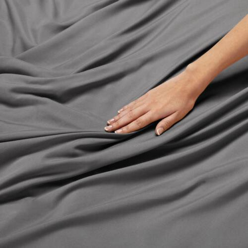 Egyptian 1800 Count 3 Ultra Soft Duvet Cover Comforter