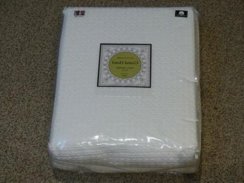elite home 100 percent cotton blanket full