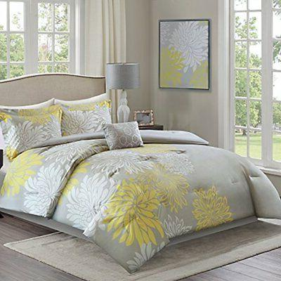 Comforter - Piece – – Printed King Size, Includes Comforter, 2 Decorative Skirt