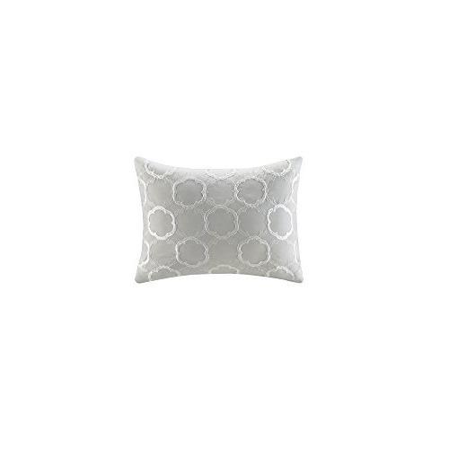 Comfort Comforter Set - 5 Piece – Floral King Size, Decorative Pillow, Skirt