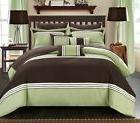 Chic Home Falcon 10 Piece Comforter Set Patchwork Color Bloc