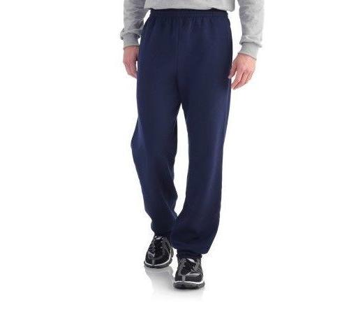 fleece elastic bottom pant