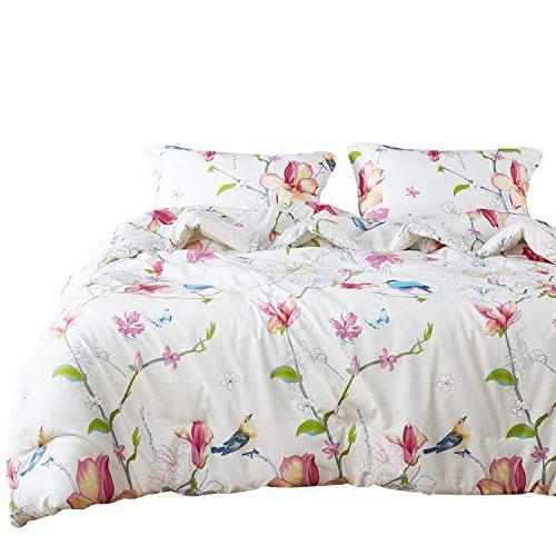 floral comforter set queen