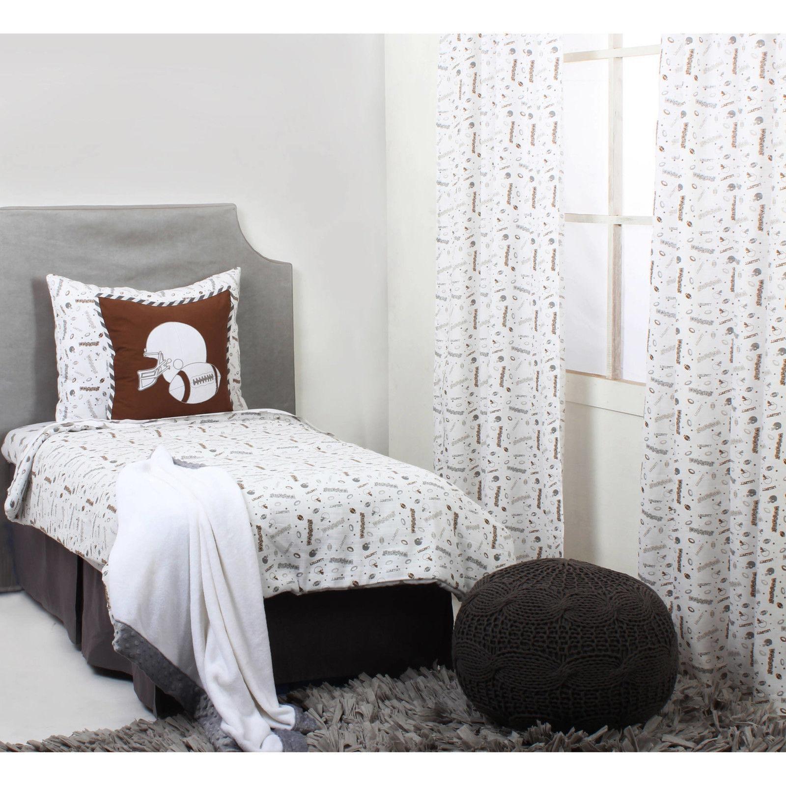 Football 4-Piece Toddler Bedding Set Kids Bed Comforter Shee