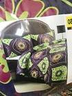 Comfort Bay Full Queen Comforter Set Reversible Purple Green