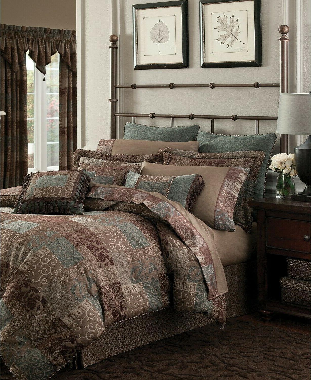 galleria brown king comforter set