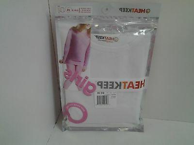 girls white long sleeve top and leggings
