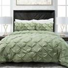 Goose Down Comforter Sleep Restoration Pinch Pleat  Duvet Fu