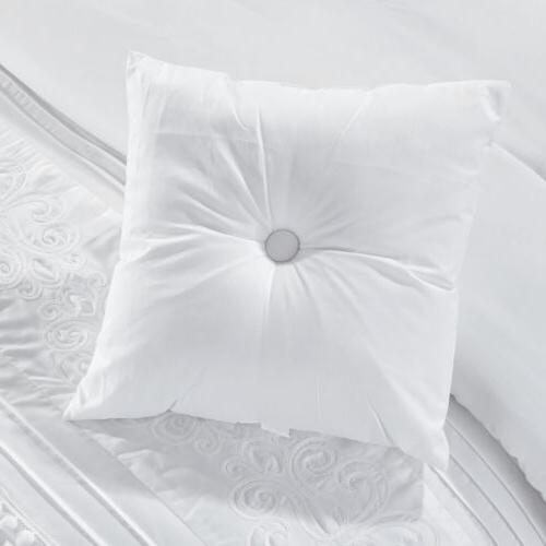 Grace 7-Piece Chenille Striped Comforter Set