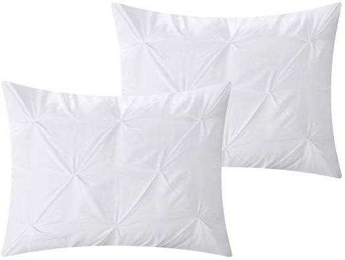 Chic Home 10 Hannah Pinch Pleated, ruffled and Bed In a Bag Comforter sheet set
