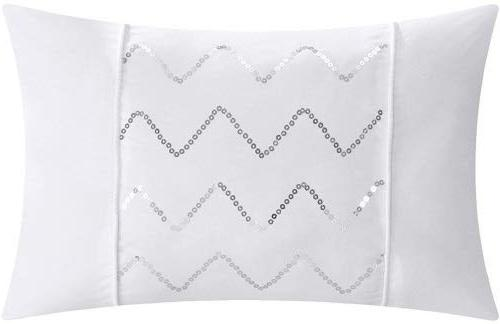 Chic Home Piece Hannah Pinch Pleated, and King Bed a Comforter Set sheet set