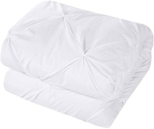 Chic Hannah ruffled and Bed Comforter With sheet set