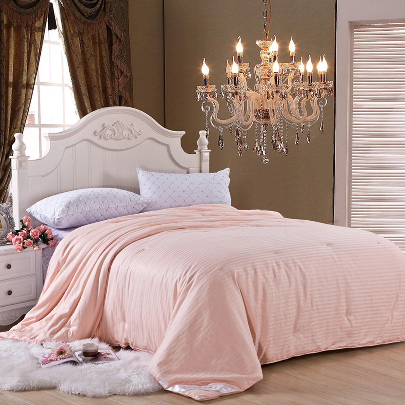 high quality 100 percent silk filled comforter