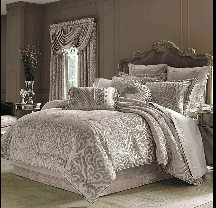 j queen new york sicily king 4piece comforter