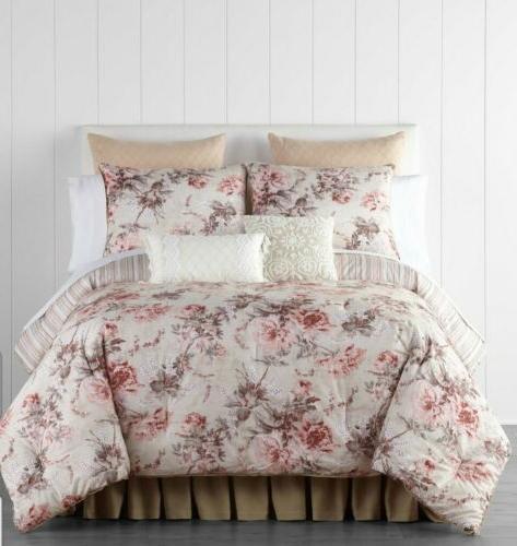 JCPenney Floral 4-pc Comforter Set *NEW* Farmhouse