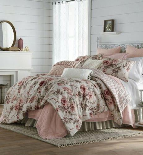 jcpenney home floral 4 pc comforter set