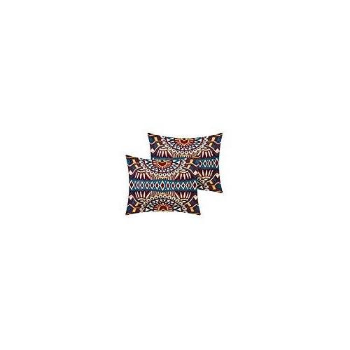 Chic Home Johannesburg REVERSIBLE global african printed bed bag Queen Red