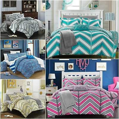 laredo 10 piece comforter set reversible chevron
