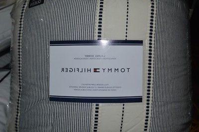 Tommy Hilfiger-Laurel Dobby 100%Cotton Full/Queen Comforter