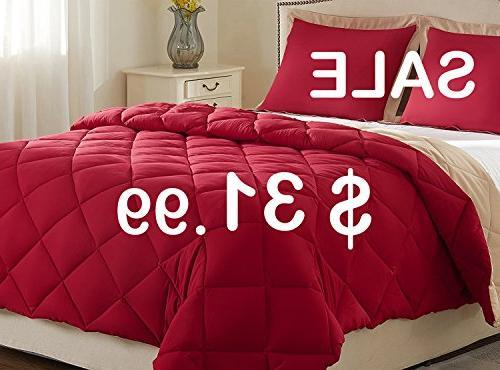 lightweight solid comforter set