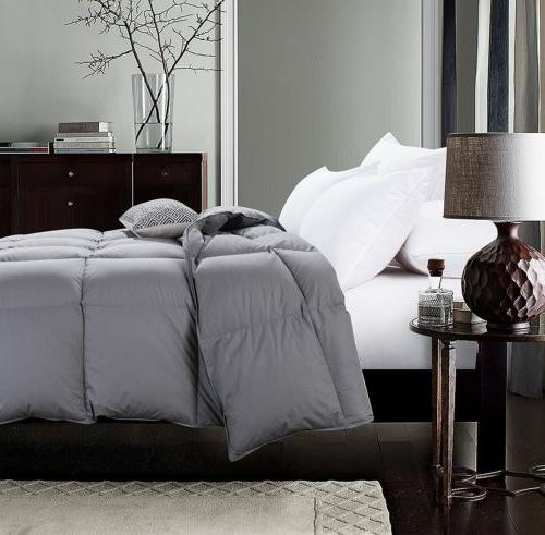 Luxury Alternative Comforter King Size, 4 Colors