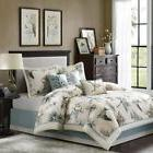 Madison Park Quincy Cal King Size Bed Comforter Set Bed In A
