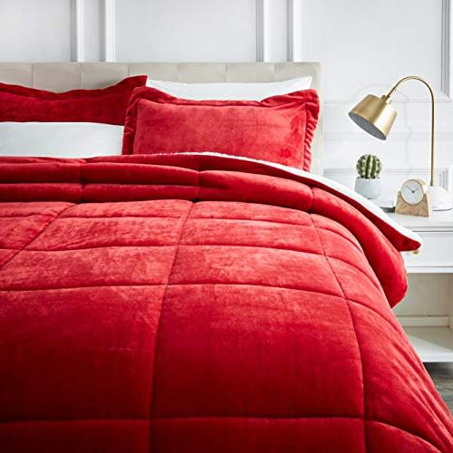micromink sherpa comforter set