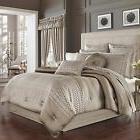 New J. Queen New York Bohemia 4 Pc Queen Comforter Set Varie