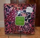 NEW Vera Bradley KATALINA PINK Sateen Comforter Set Twin/Twi