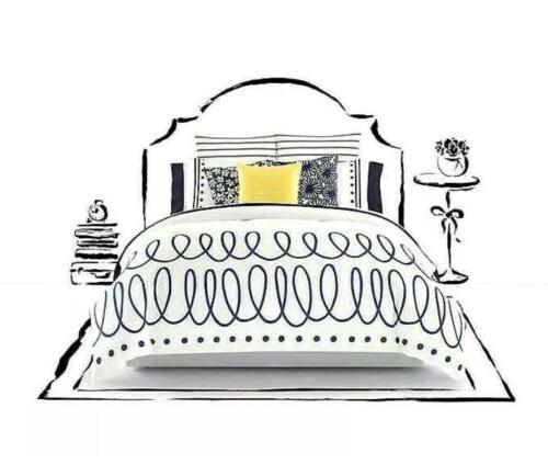 KATE SPADE NEW YORK Polka Deco Dot FULL/QUEEN 3pc Comforter