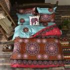 Paisley Mandala Hippie Comfort Ultra Soft Duvet Cover Set Co