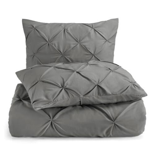 Pinch Pleated Cover Set Luxurious Quality Cover