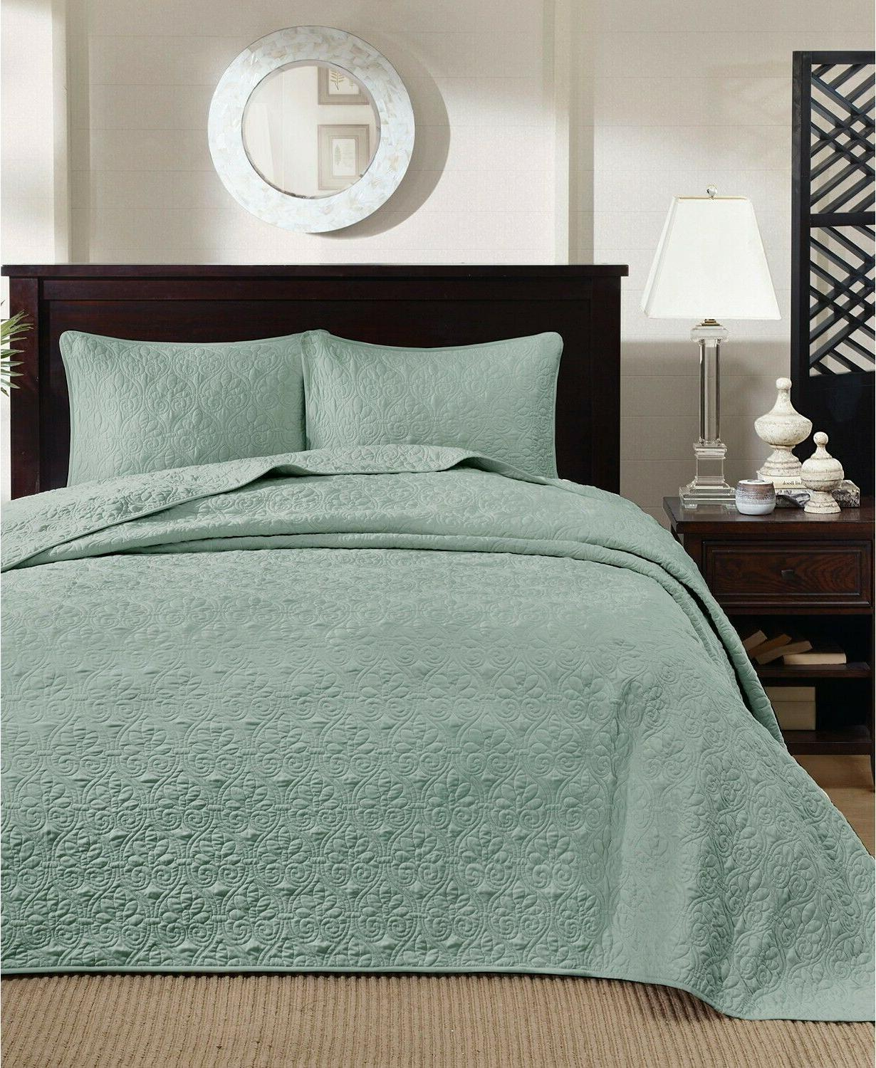 Madison Park Quebec 3 Piece Bedspread Set