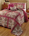 Quilted Coverlet Set Queen or King Size Bedding Comforter Be