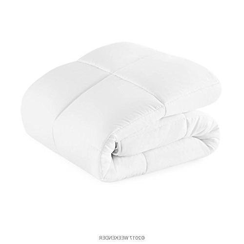 WEEKENDER Down Alternative Hotel-Style Comforter - Stand-Alone Comforter - - Great Seasons - Tabs - King -