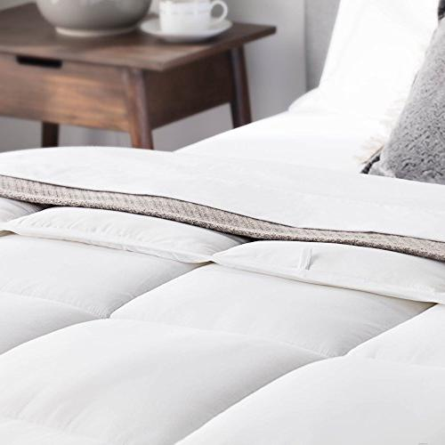 WEEKENDER Down Alternative Hotel-Style as Duvet Stand-Alone Comforter - Great Seasons Tabs - California - Classic