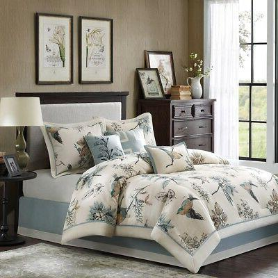 Madison Park Quincy King Size Bed Comforter Set Bed In A Bag