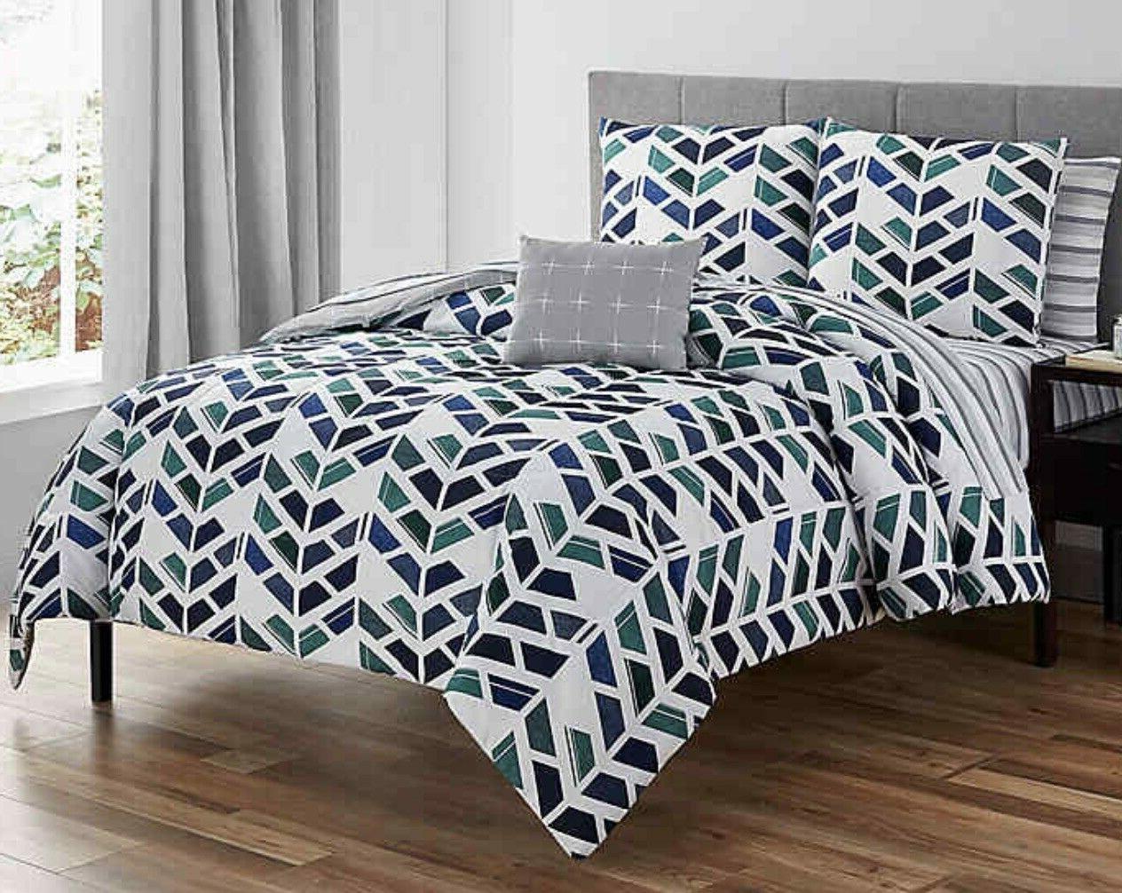 Rogan King Comforter Navy Style Super