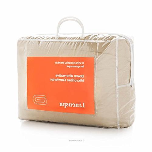 Linenspa Down Alternative Quilted Comforter Hypoallergenic - - Duvet Stand-Alone -