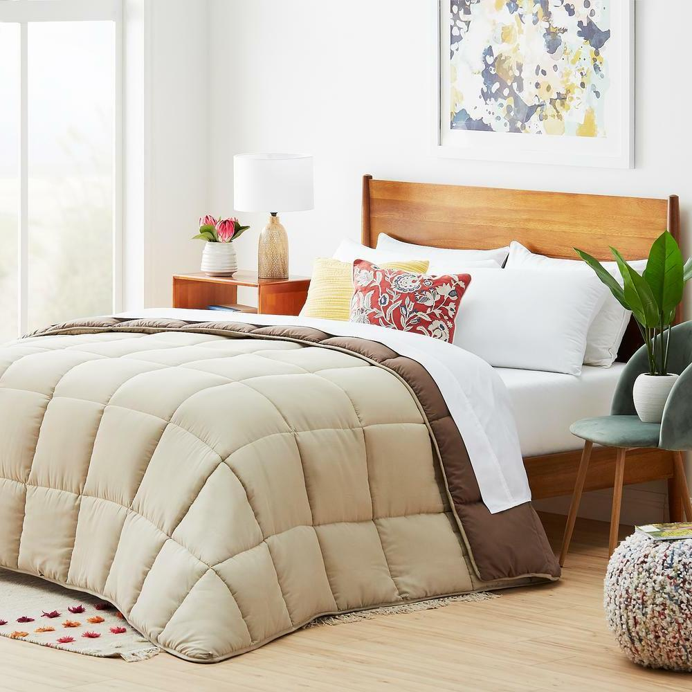 season reversible down alternative quilted