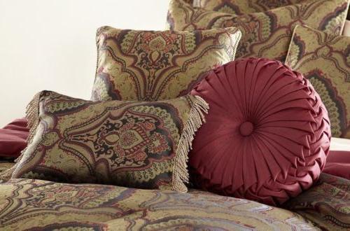 Chezmoi Collection 9-piece Jacquard Paisley Set